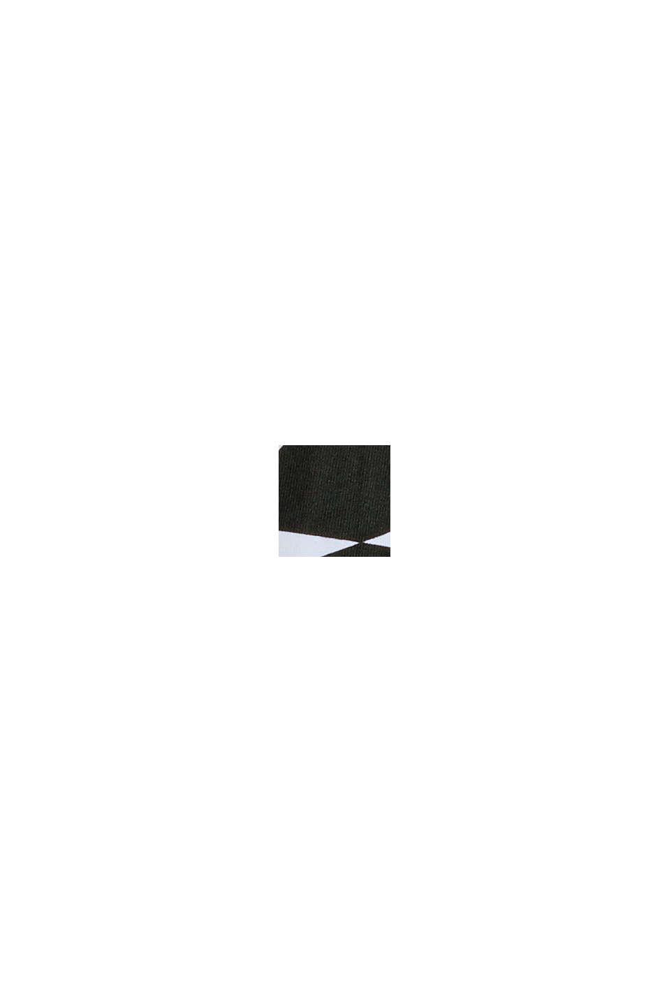 Recyelt: Neckholder-BH mit Bügel, BLACK, swatch