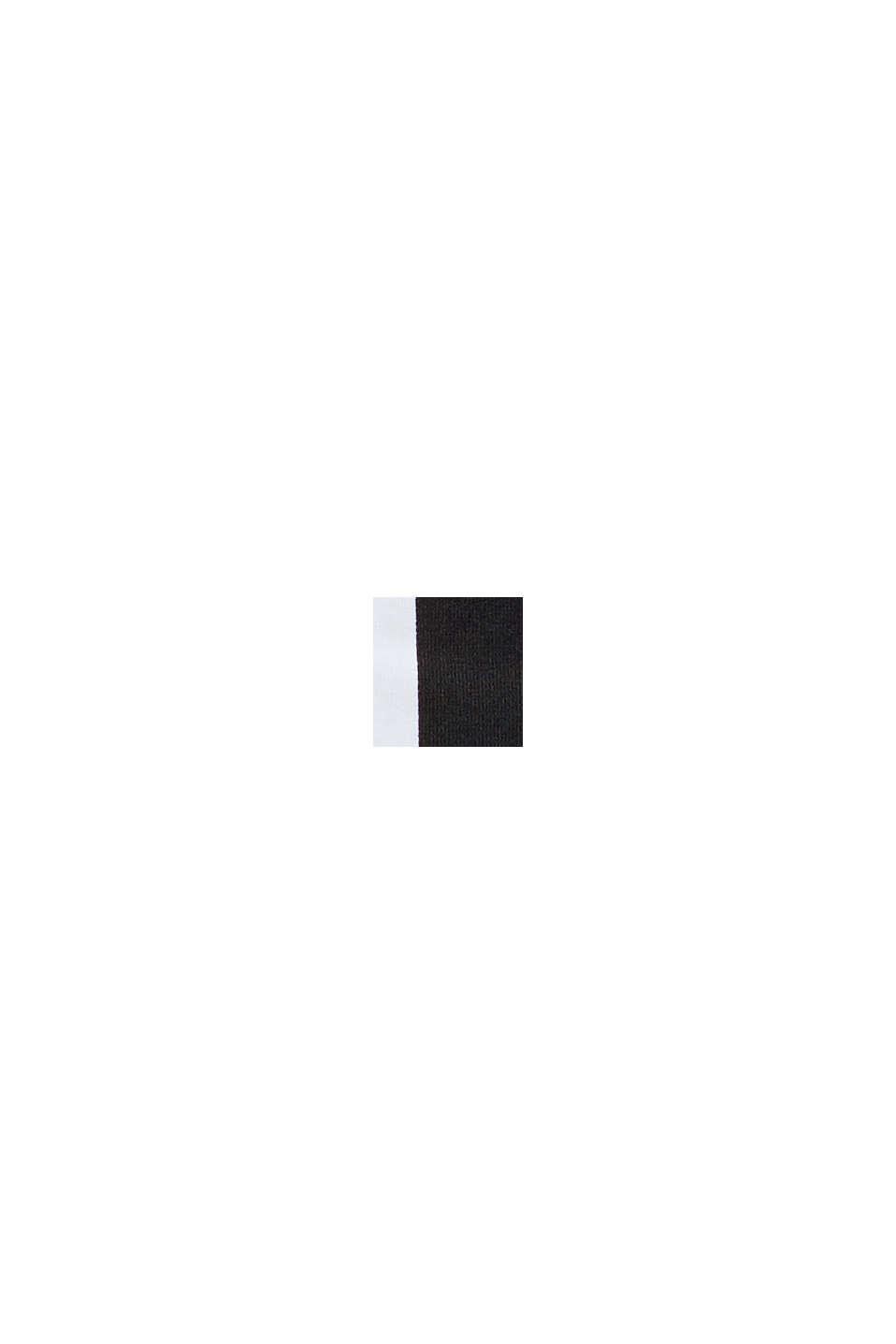 En matière recyclée: le maillot une pièce dos-nu non rembourré, BLACK, swatch