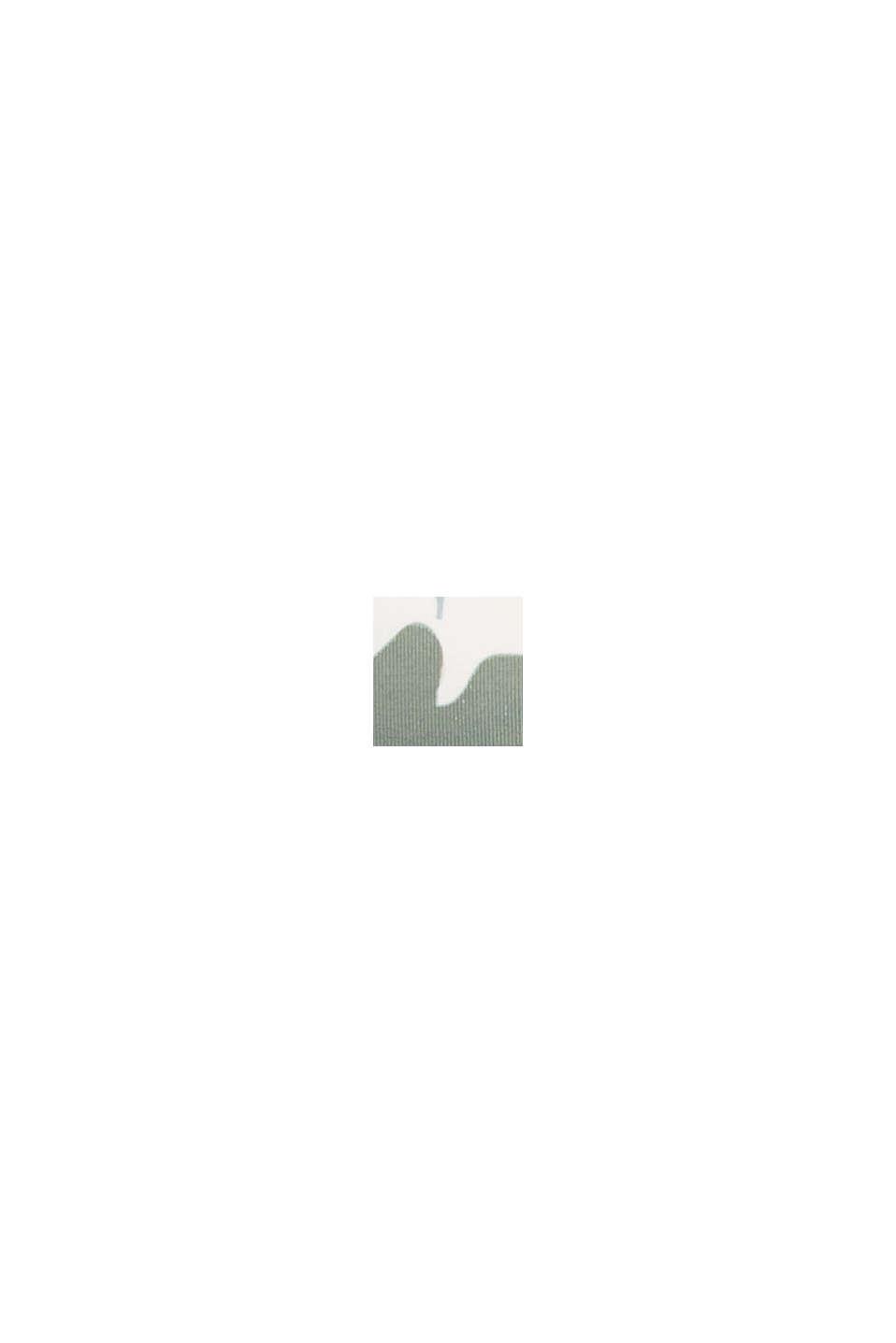 Recycelt: wattiertes Tankini-Top, LIGHT KHAKI, swatch
