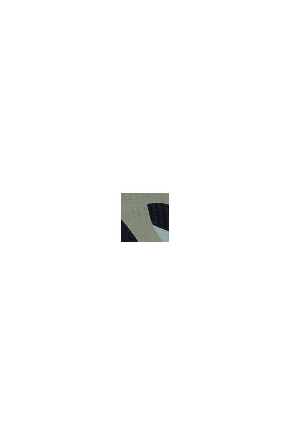 Återvunnet material: miditrosa med kamouflagemönster, LIGHT KHAKI, swatch