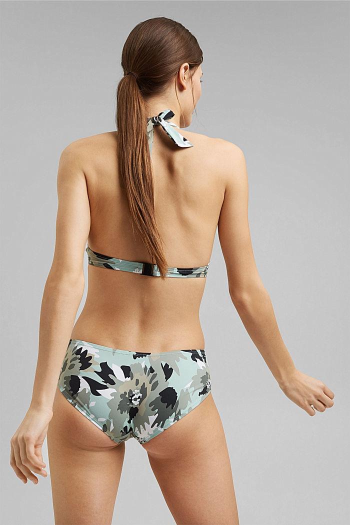 Gerecycled: hipster-short met camouflageprint, LIGHT KHAKI, detail image number 2