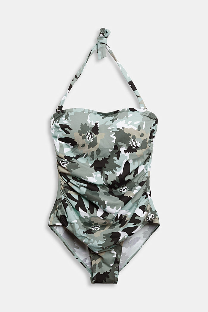 Recycled: swimsuit with detachable straps