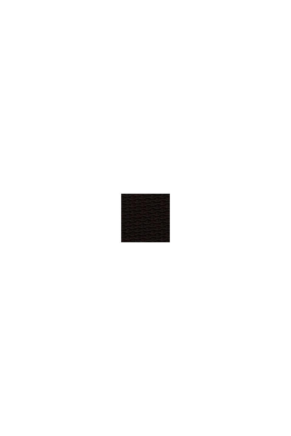 Maillot une pièce rembourré et texturé, BLACK, swatch