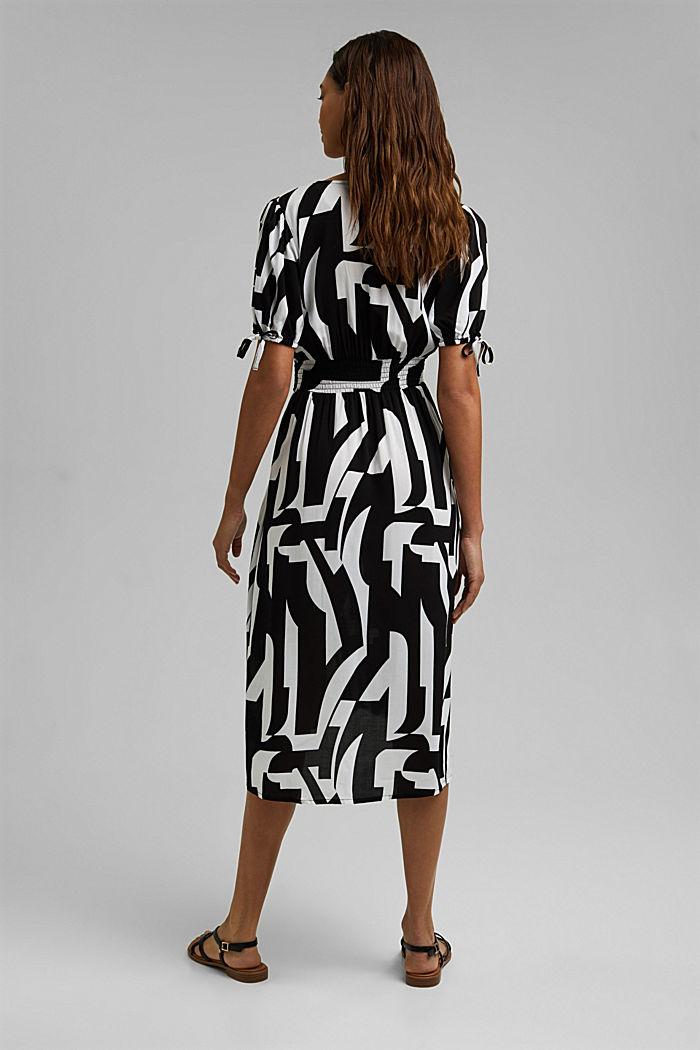 Midi dress made of LENZING™ ECOVERO™, BLACK, detail image number 1