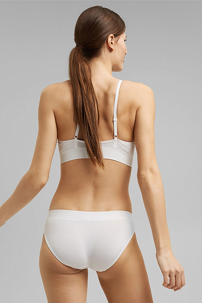 Soft, comfortable hipster briefs, OFF WHITE, detail image number 2