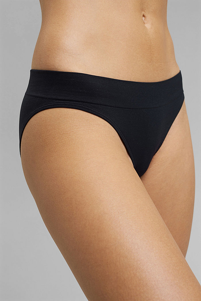 Soft, comfortable hipster briefs, NAVY, detail image number 1