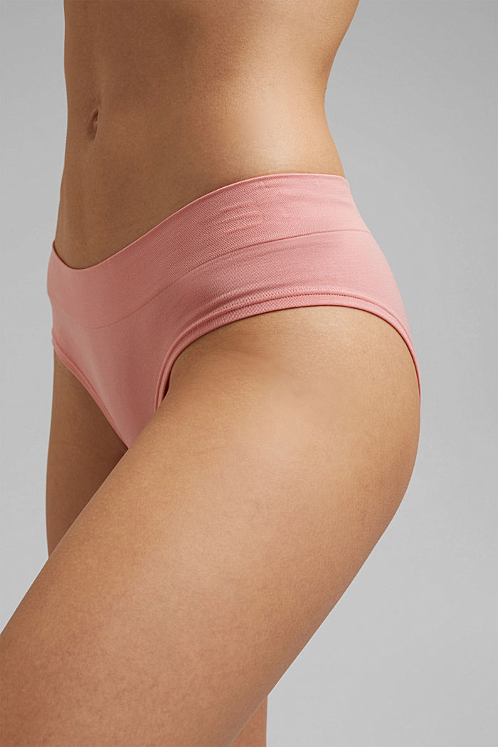 Hipster Shorts mit Soft-Komfort, CORAL, overview