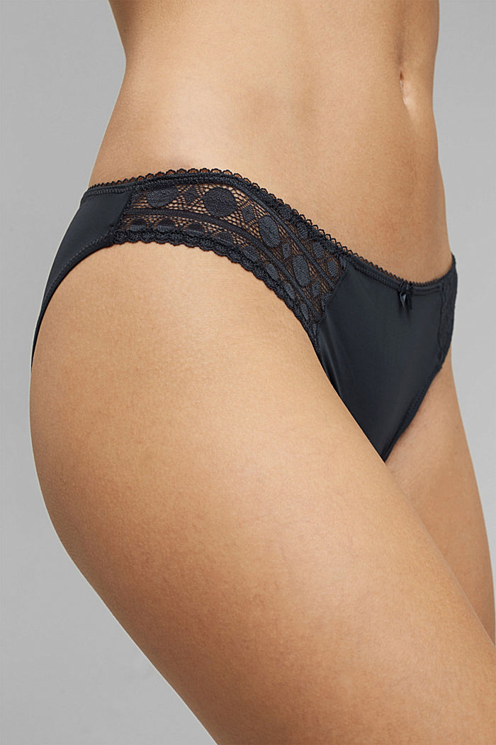 Recycled: hipster briefs with lace