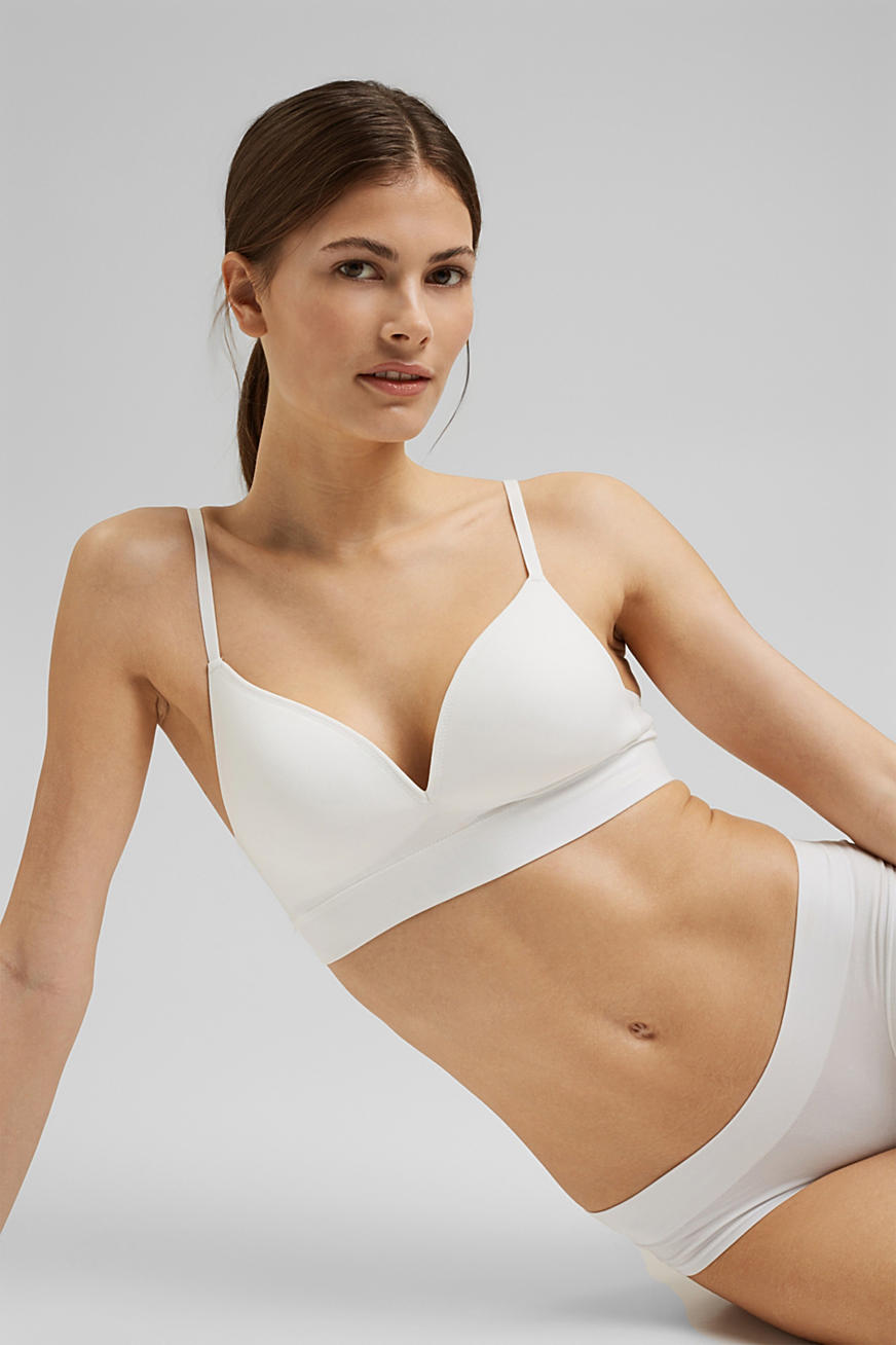 wireless padded bra