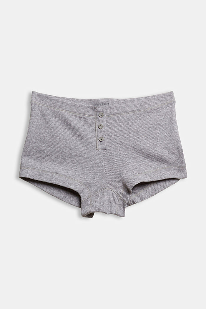 Feinripp-Hotpants, Organic Cotton