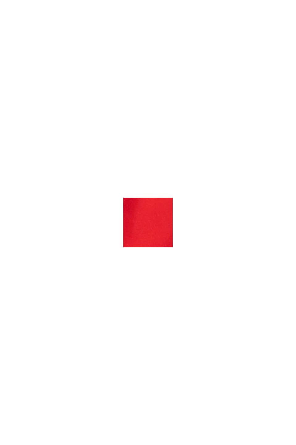 Gerecycled: zwemshort met neonkleurige details, RED, swatch