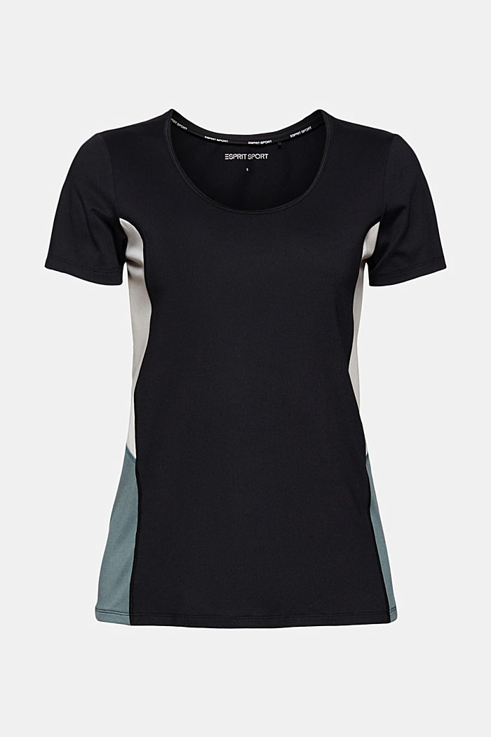 Recycled: Active T-shirt with E-DRY