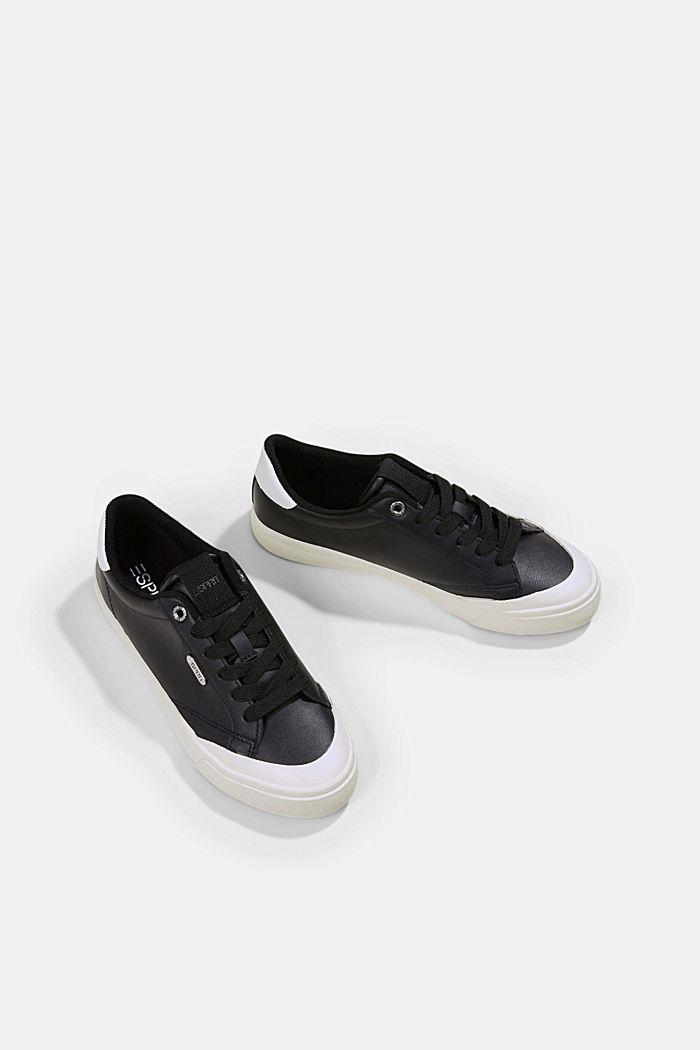 Sneaker in Lederoptik, BLACK, detail image number 5