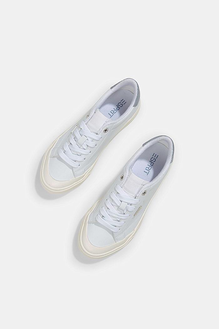 Sneaker in Lederoptik, WHITE, detail image number 5
