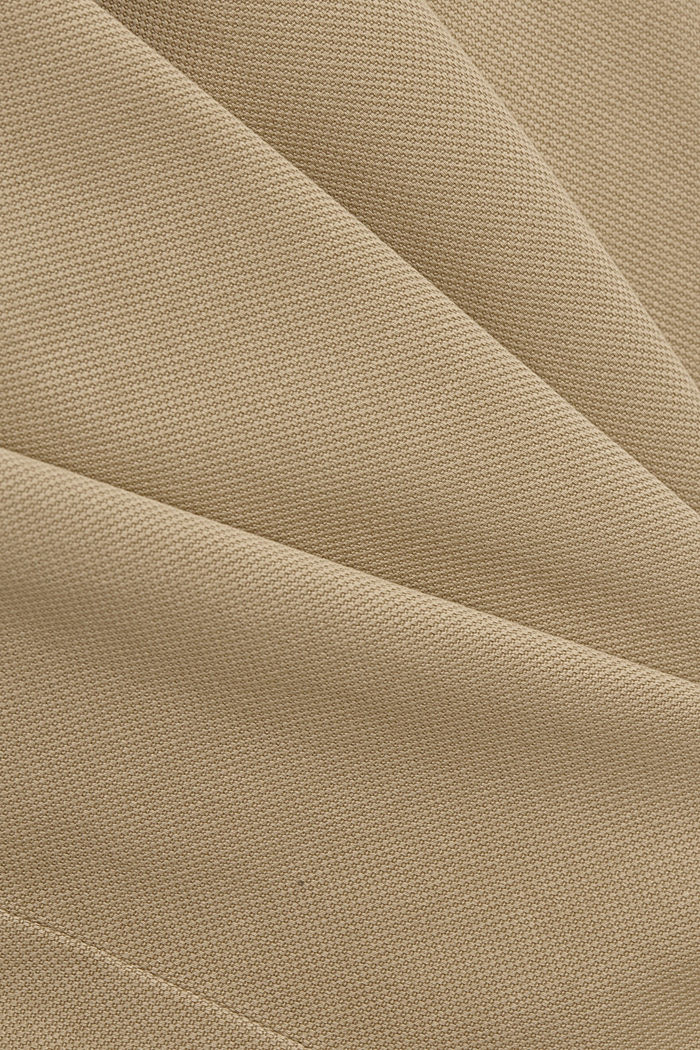 Knöchellange High-Rise aus Bio-Baumwolle, SAND, detail image number 4