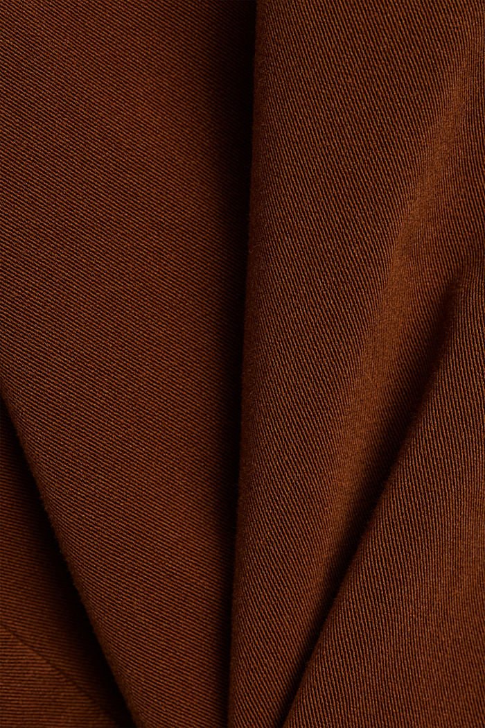 Two-way stretch trousers with organic cotton, TOFFEE, detail image number 4