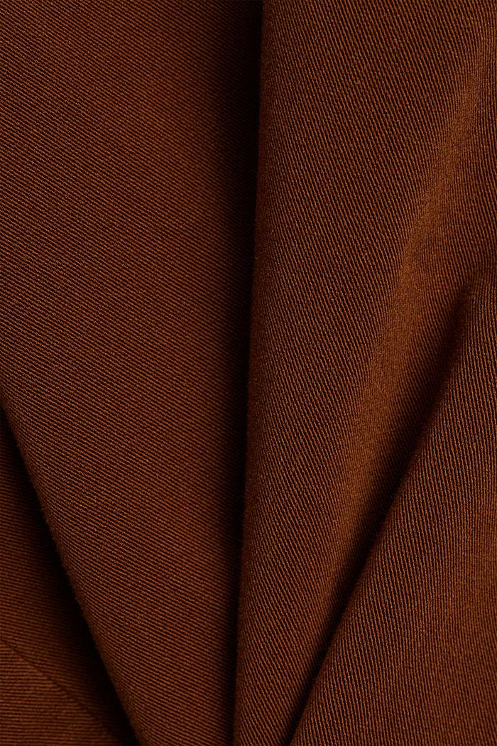Bi-stretchbroek met organic cotton, TOFFEE, detail image number 4