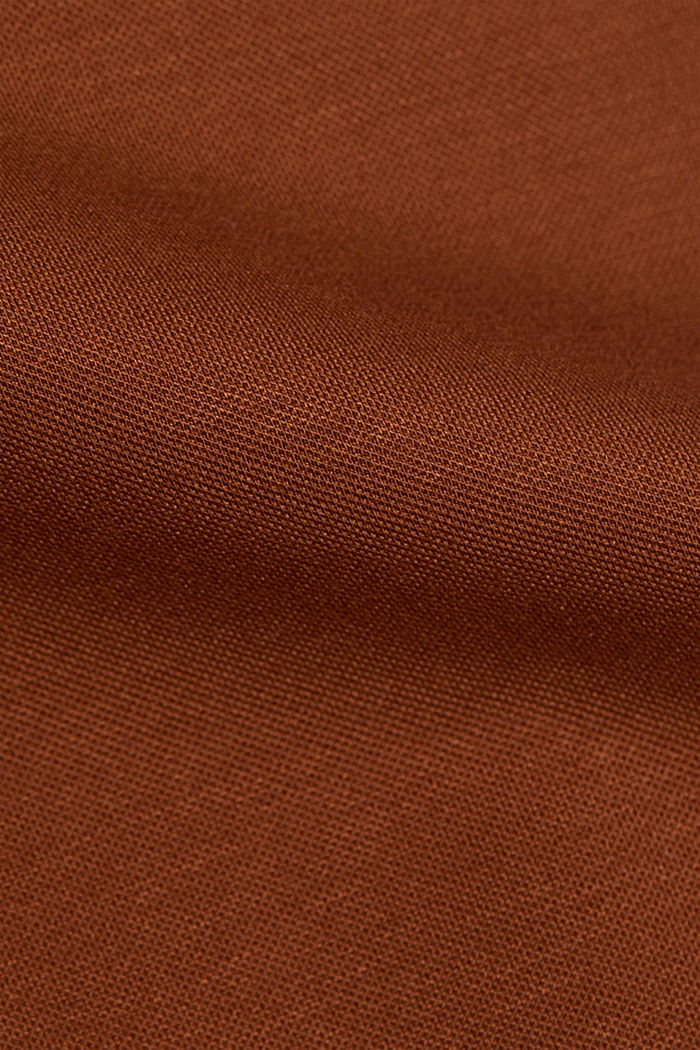 High-rise jersey trousers, TOFFEE, detail image number 4