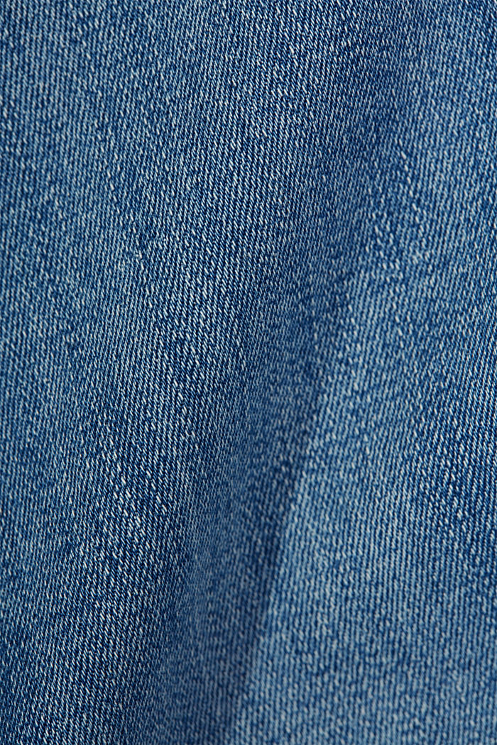 Stretch-Jeans mit Organic Cotton, BLUE MEDIUM WASHED, detail image number 4