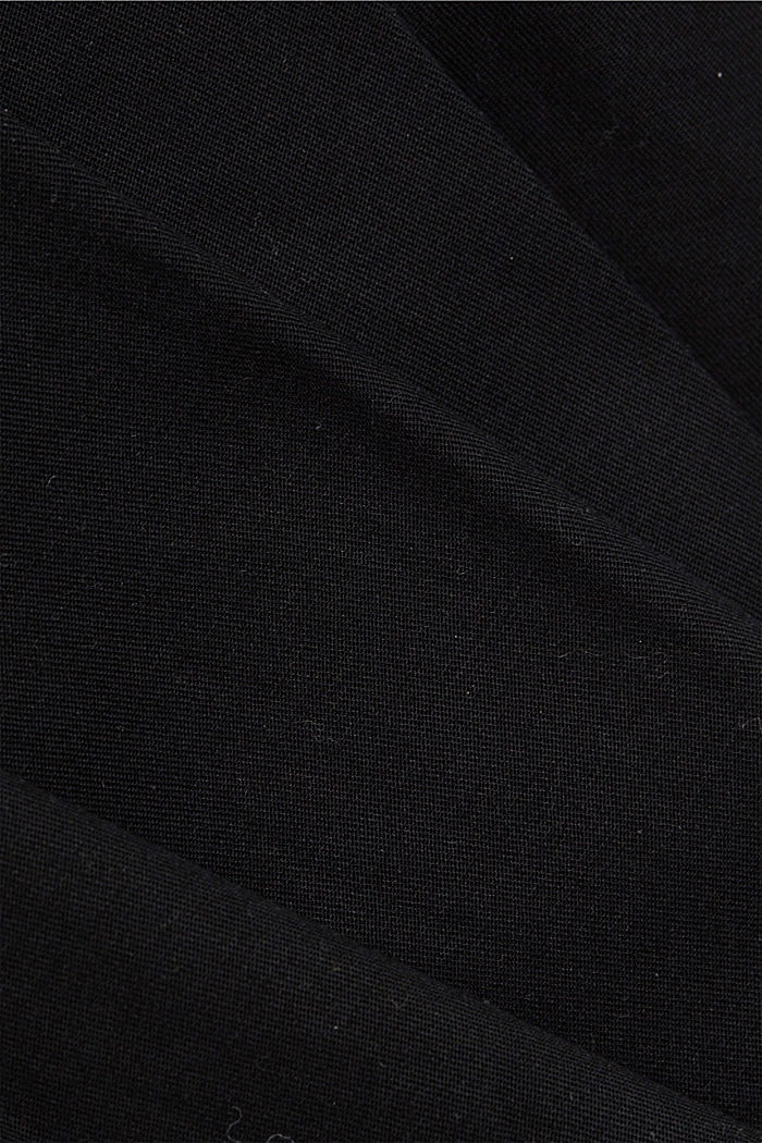 Stretch chinos with Lycra xtra life™, BLACK, detail image number 4