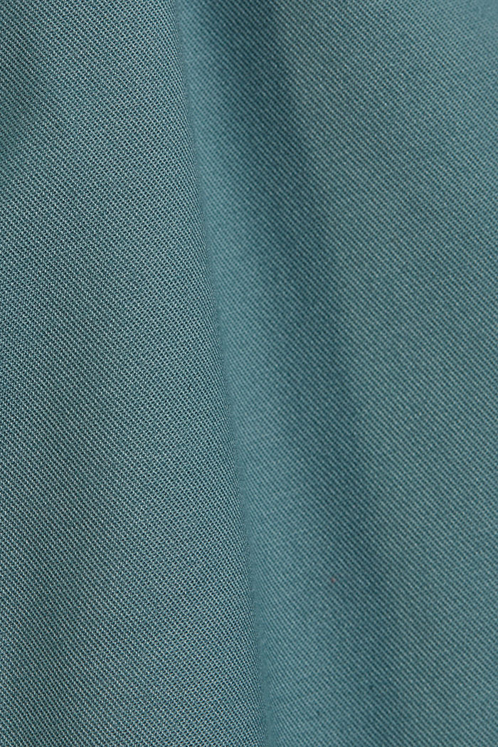 Stretch chinos with Lycra xtra life™, DARK TURQUOISE, detail image number 4