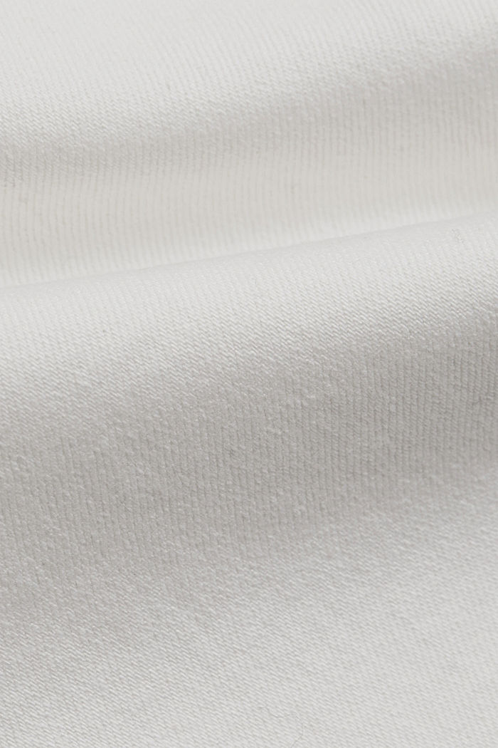 Fashionable, ankle-length jeans containing organic cotton, OFF WHITE, detail image number 4