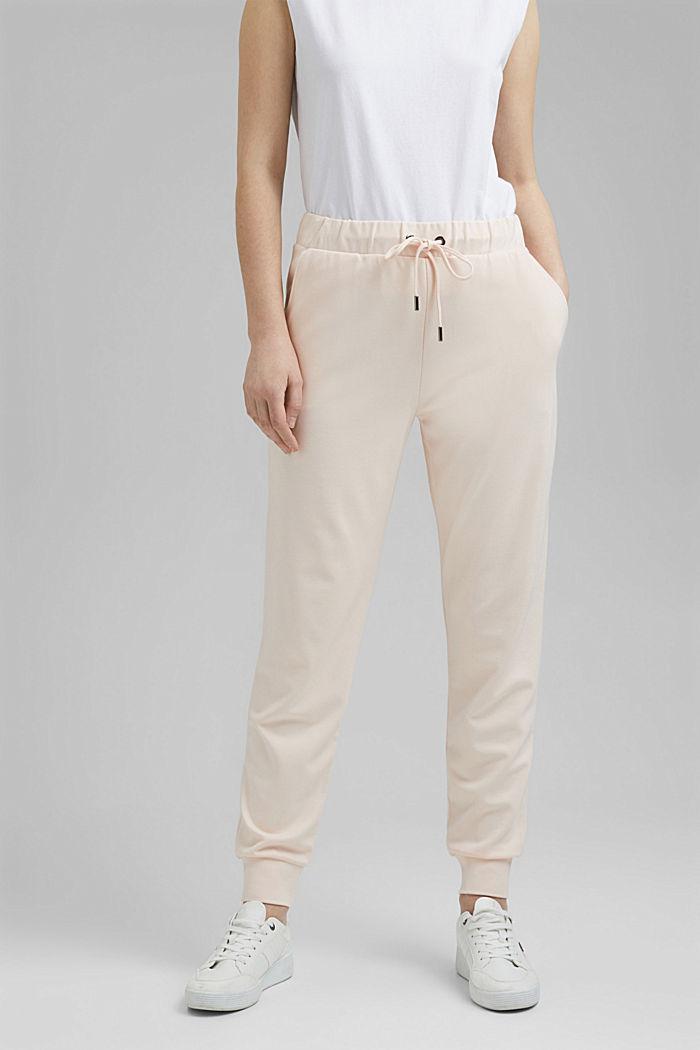Jogg-Pants aus Premium Jersey, LIGHT PINK, detail image number 0