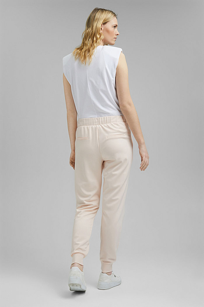 Jogg-Pants aus Premium Jersey, LIGHT PINK, detail image number 3