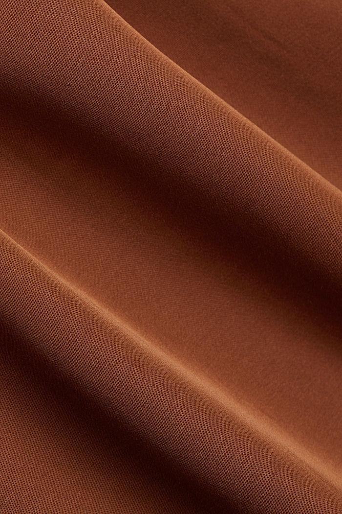 Midirok met LENZING™ ECOVERO™, TOFFEE, detail image number 4