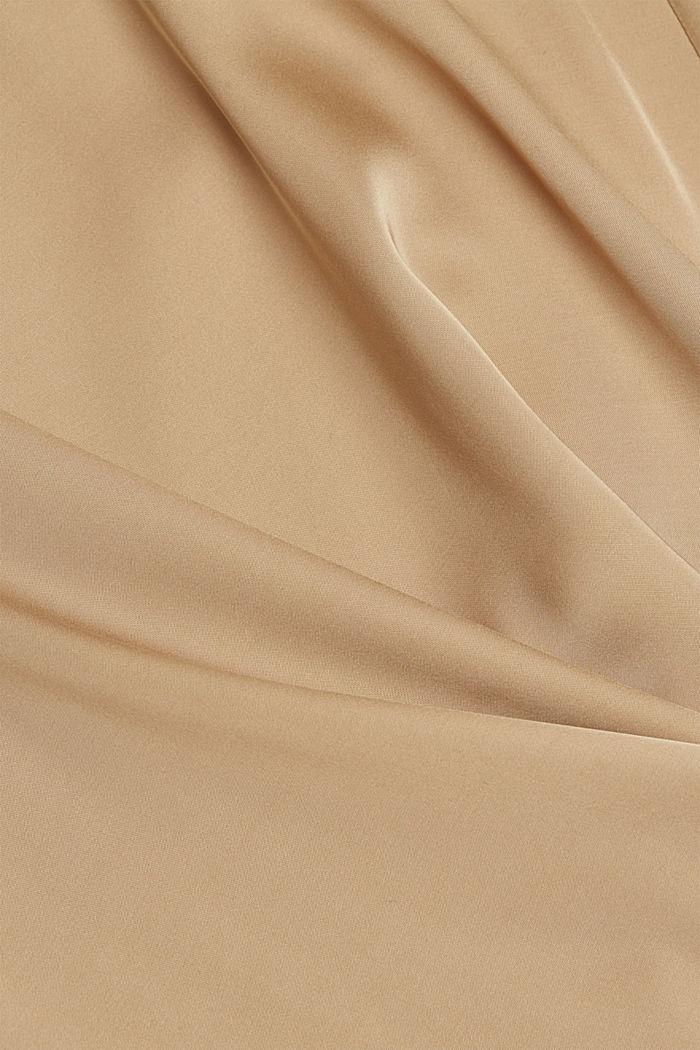 Midi-nederdel med LENZING™ ECOVERO™, SAND, detail image number 4