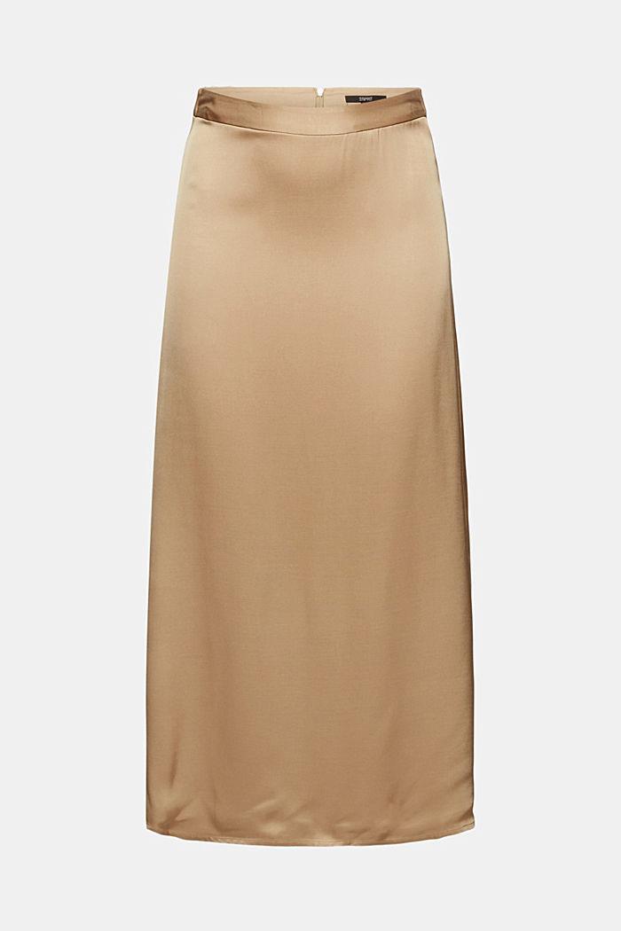 Midi skirt featuring LENZING™ ECOVERO™