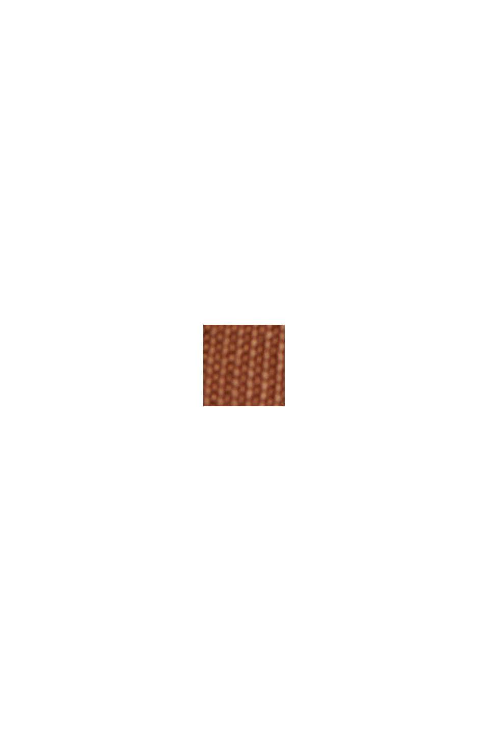 Kokerrok met LENZING™ ECOVERO™, TOFFEE, swatch