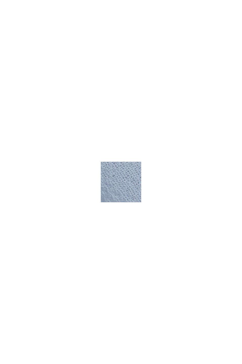 Af genanvendte materialer: Chiffonnederdel med satinlinning, PASTEL BLUE, swatch