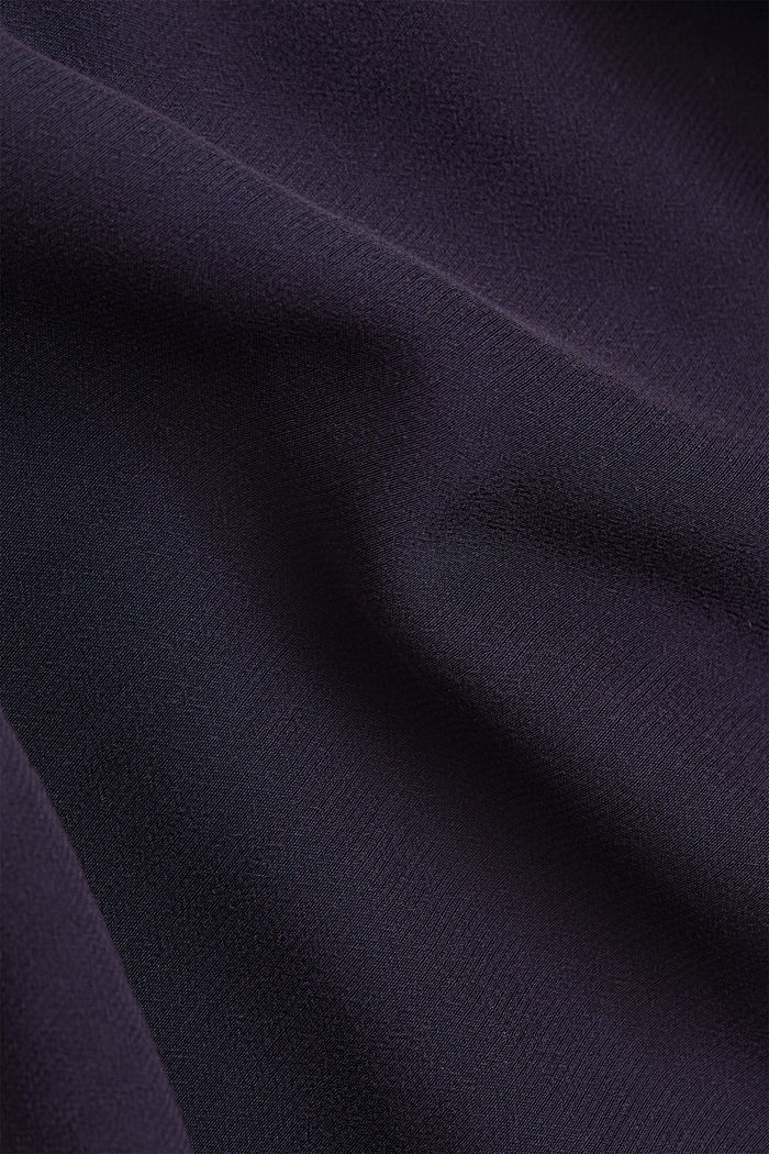 Falda midi en LENZING™ ECOVERO™, NAVY, detail image number 4