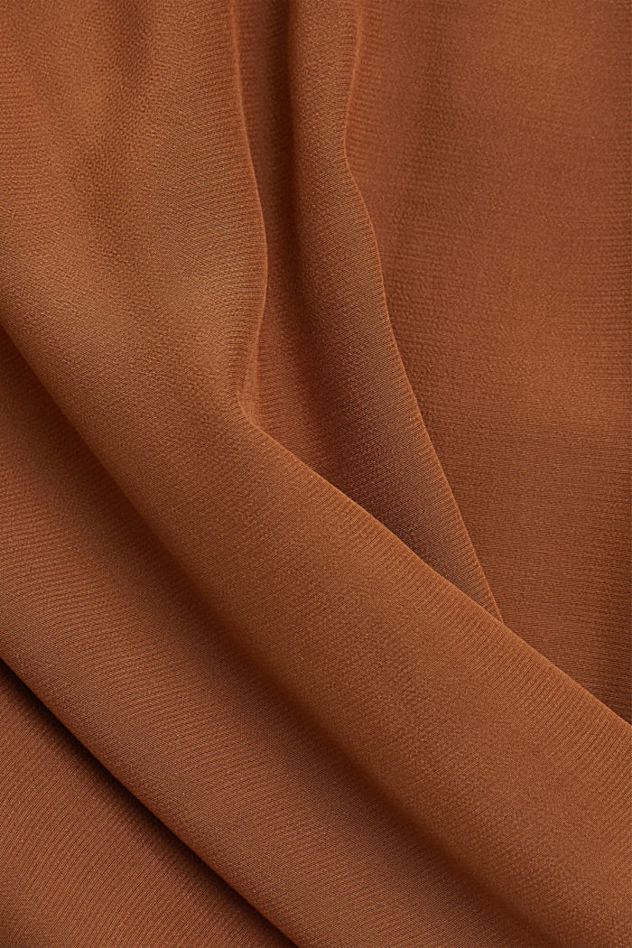 Dress with LENZING™ ECOVERO™, TOFFEE, detail image number 4