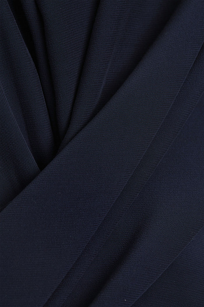 Dress with LENZING™ ECOVERO™, NAVY, detail image number 4