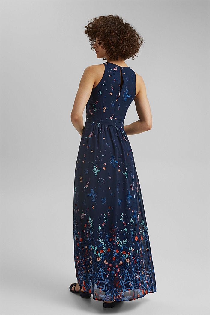 Recycled: halterneck maxi dress, NAVY, detail image number 2