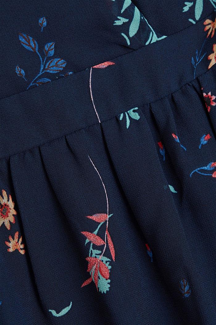 Recycled: halterneck maxi dress, NAVY, detail image number 4