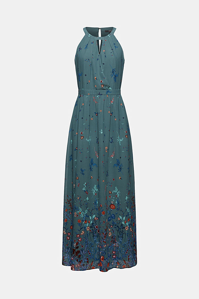 En matières recyclées: robe dos-nu maxi longueur