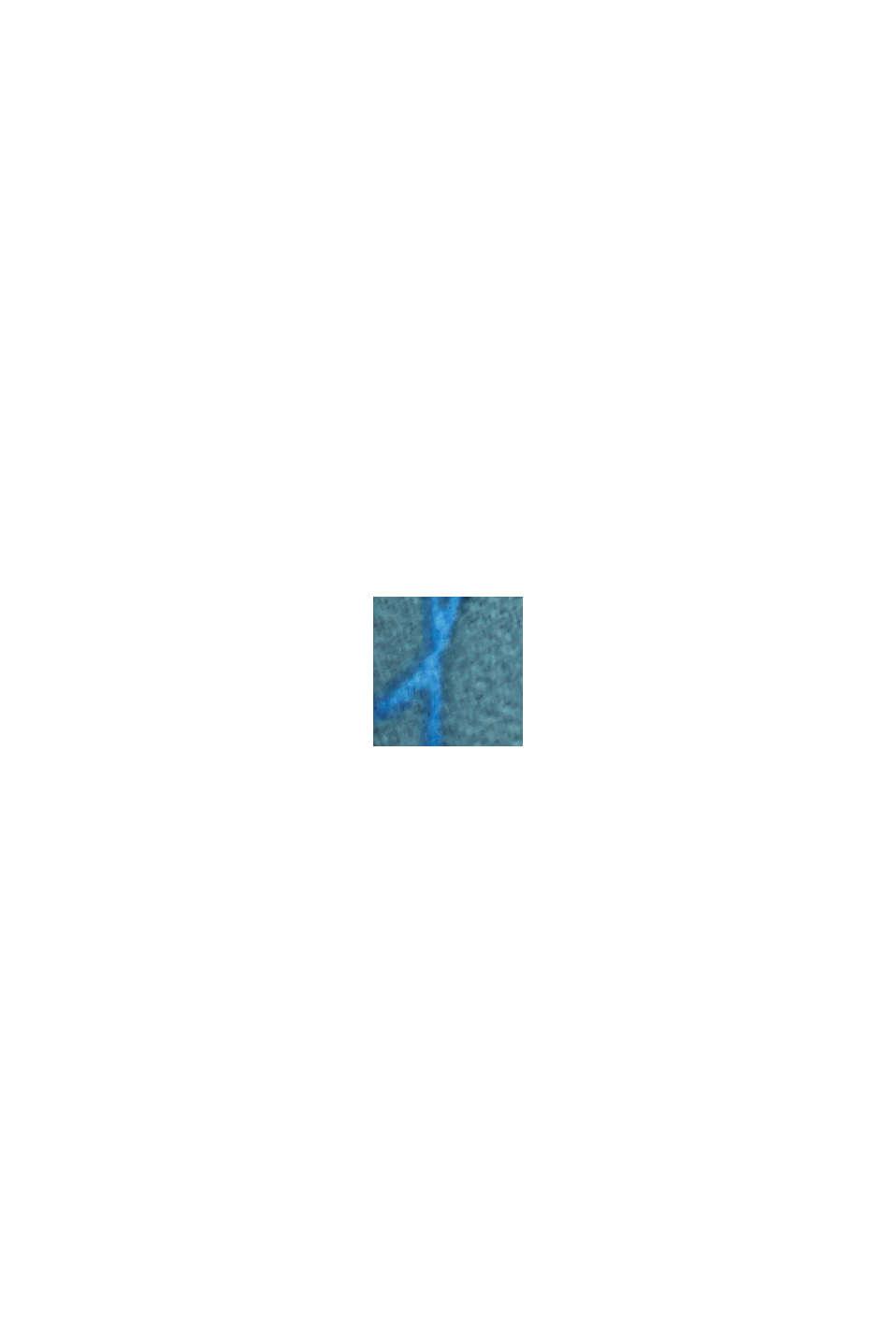 Recycelt: Maxikleid mit Neckholder, DARK TURQUOISE, swatch