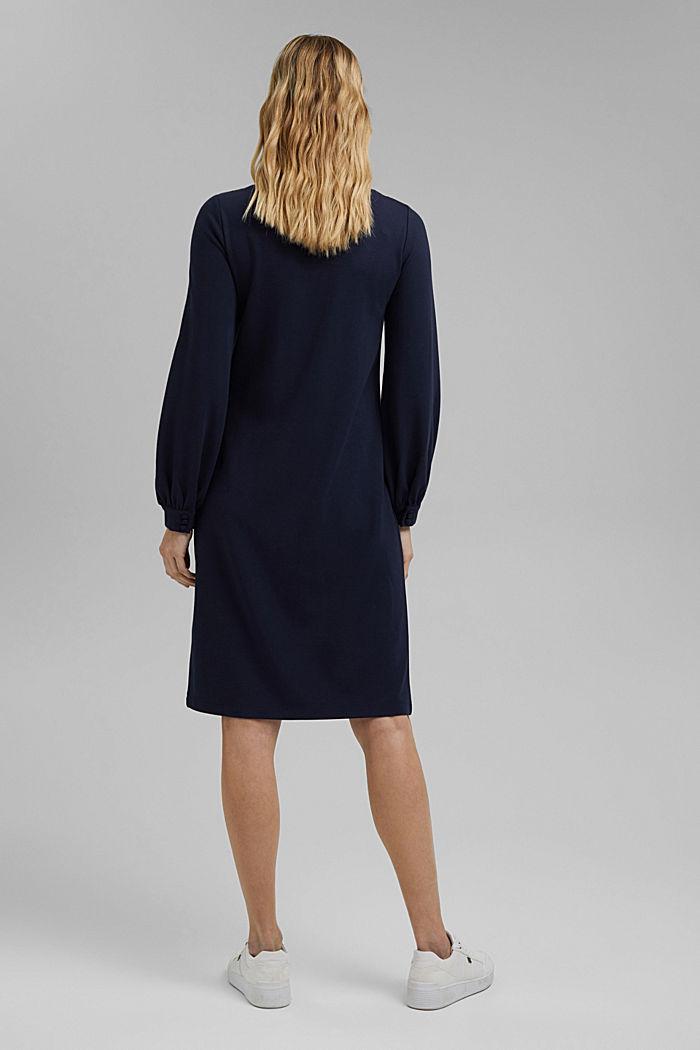 Jerseykleid mit LENZING™ ECOVERO™, NAVY, detail image number 2