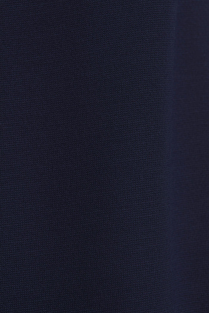Jersey dress with LENZING™ ECOVERO™, NAVY, detail image number 4
