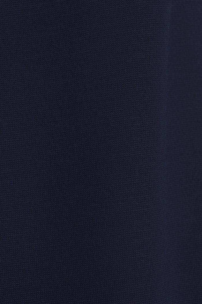 Jerseykleid mit LENZING™ ECOVERO™, NAVY, detail image number 4