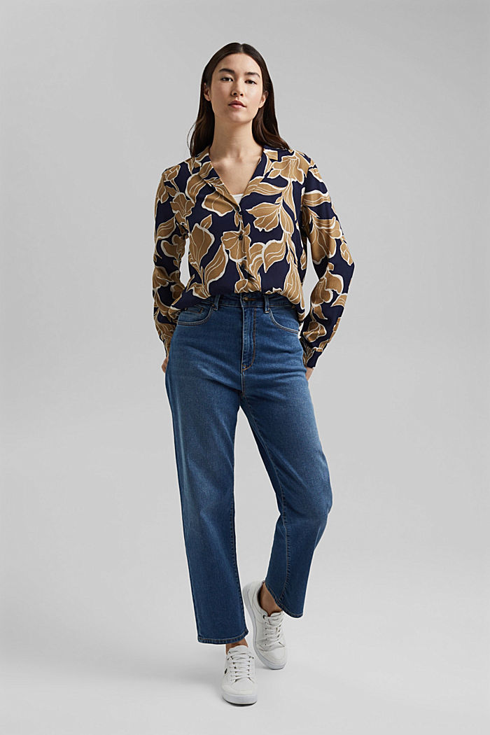 Floral blouse with LENZING™ ECOVERO™