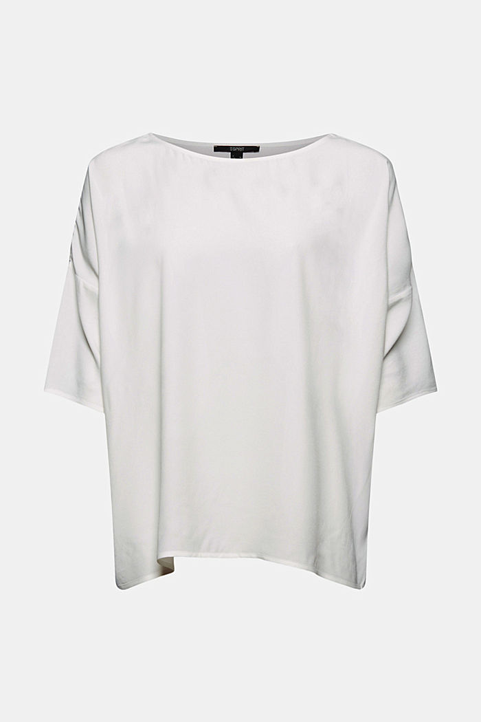 T-shape blouse made of LENZING™ ECOVERO™