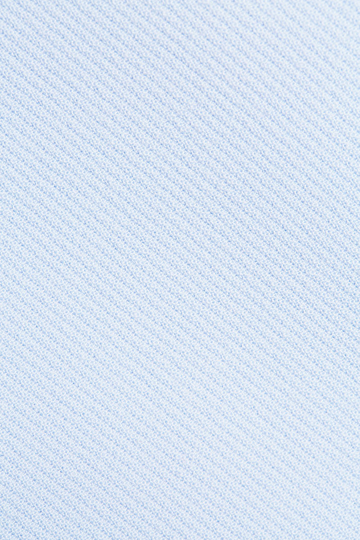 Recycled: short coat with inverted pleats, PASTEL BLUE, detail image number 4