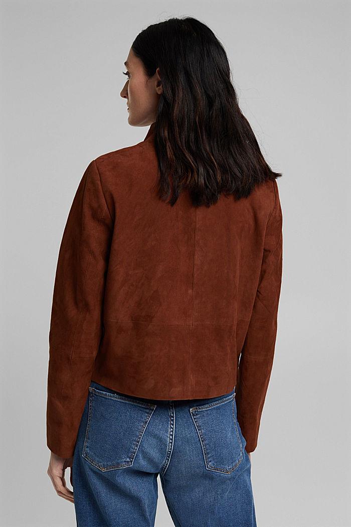 Suede jacket, TOFFEE, detail image number 3