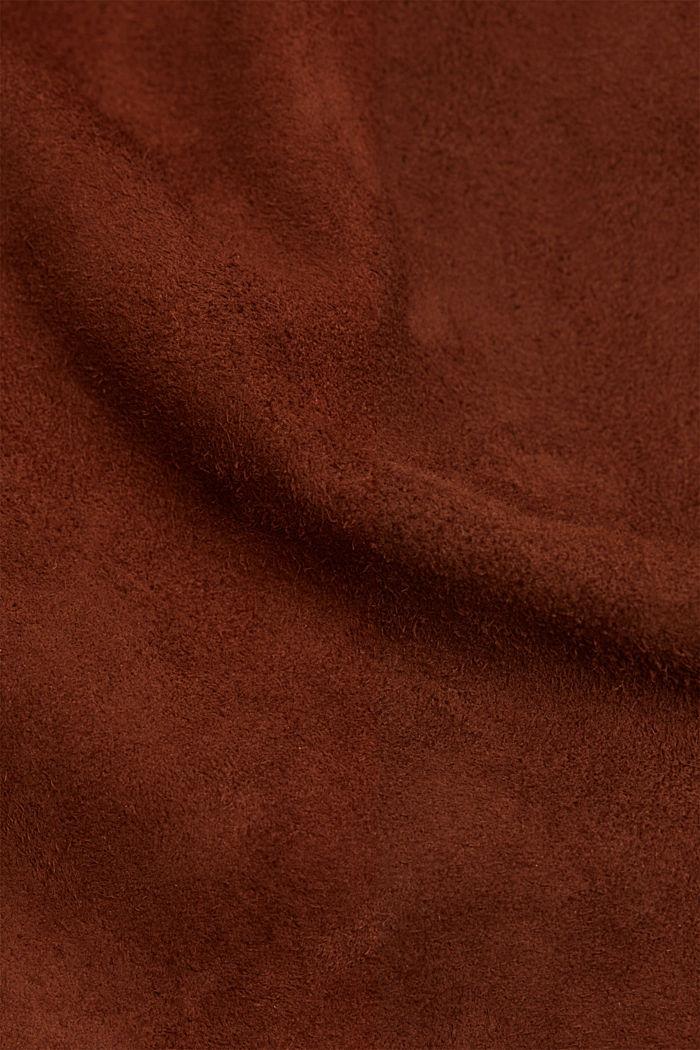 Suede jacket, TOFFEE, detail image number 4