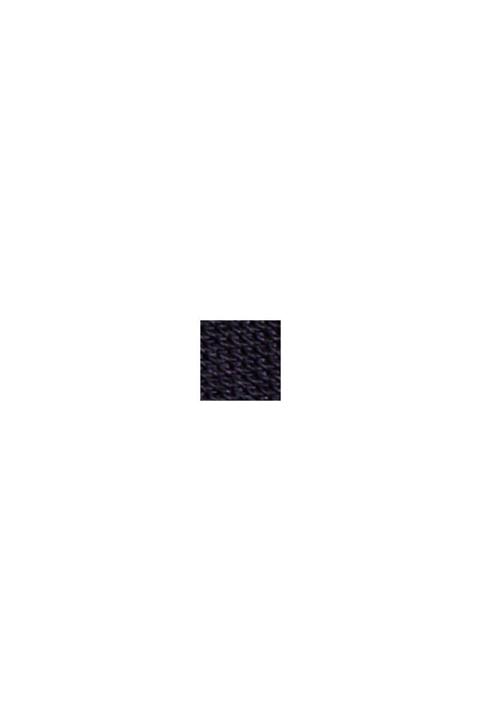 Dwurzędowy żakiet z jerseyu, NAVY, swatch