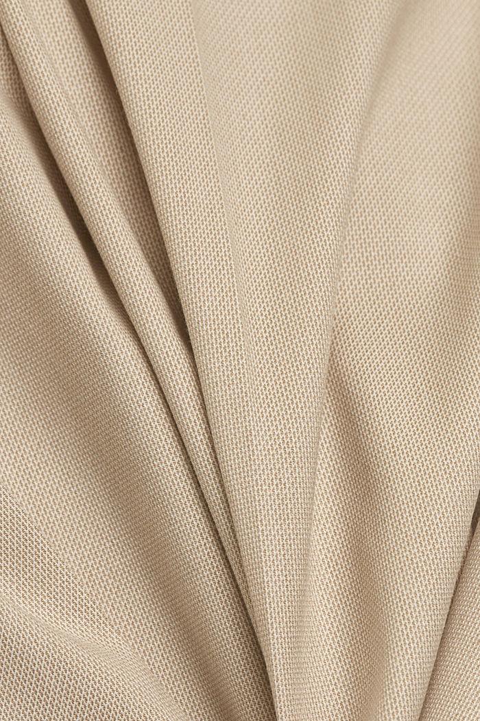 SMART SPRING Blazer elástico Mix + Match, BEIGE, detail image number 4